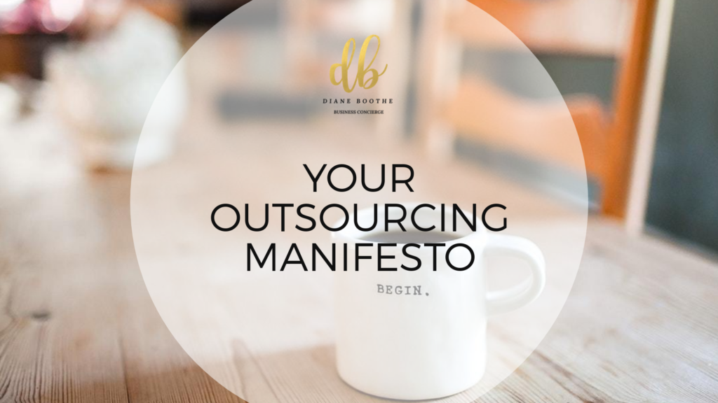 Outsourcing your tasks