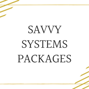 Savvy Systems Packages
