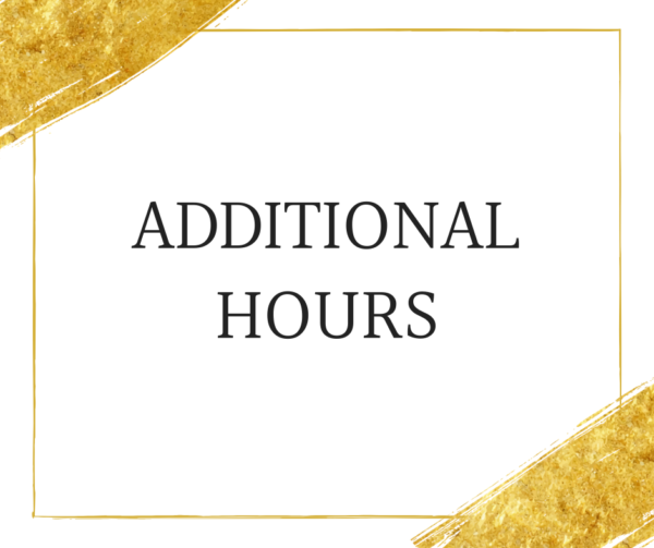 Additional hours