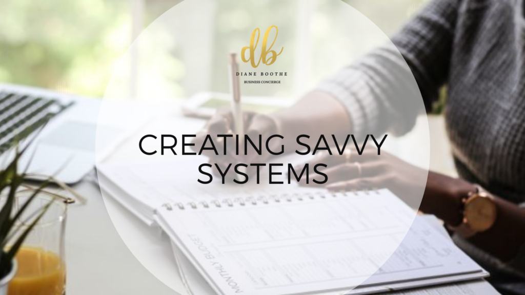 Creating Savvy Systems